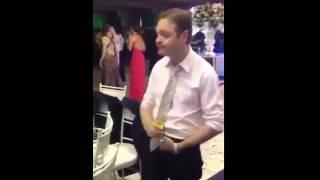 Drunk in a wedding