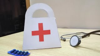DIY Paper First Aid Bag 2019 | World Doctors Day 2019 | 1st July, 2019