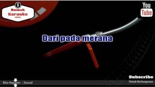 Karaoke Rita Sugiarto  - Zaenal