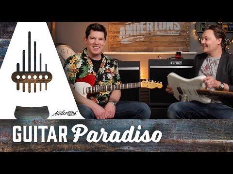 Guitar Paradiso - Fender Bassbreaker Amps 18/30 & 45