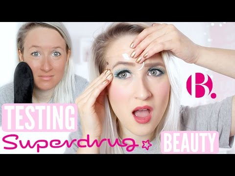 Testing SUPERDRUGS OWN Beauty (Makeup, Lashes, Tan, Brow Stencil)