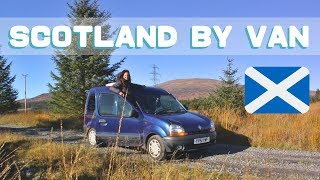 Van dwelling in SCOTLAND - Things to consider before you go!