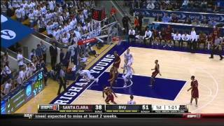 Jerry Brown Highlight Film Santa Clara Basketball 2014