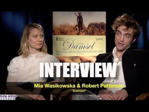My Full  with Mia Wasikowska and Robert Pattinson about 'DAMSEL'