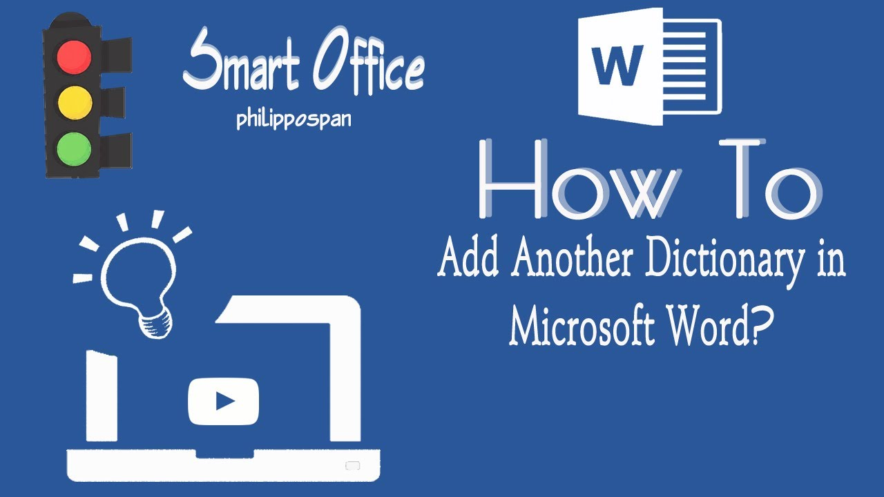 How To Add A Dictionary In Word 13