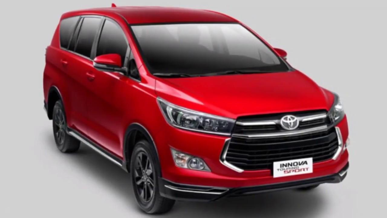 2019 Toyota Innova 2.8 Touring Sport Dsl AT/MT - YouTube