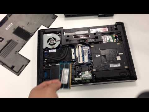 fix notebook can't boot HP 8470P problem led blink 4 time - YouTube