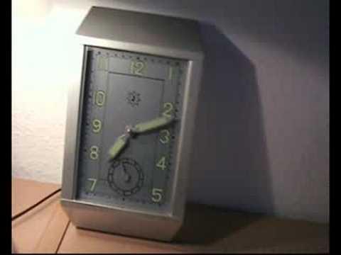 Junghans remake art deco wall clock