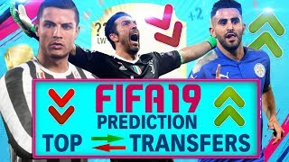 FIFA 19 ● Die ersten TOP TRANSFERS PREDICTION | Ronaldo, Buffon, Mahrez & Rooney