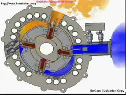 Motor Rotary Engine 2D anmiation fuel saving New.avi