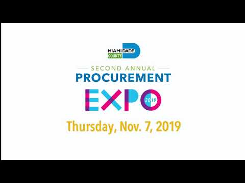 Miami-Dade County 2nd Annual Procurement Expo