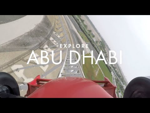 Riding the world's fastest rollercoaster
