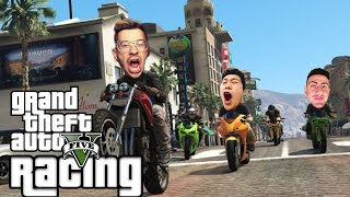 TEAM ALBOE RACING #1 | GTA 5 Funny Moments (GTA 5 Online Races)