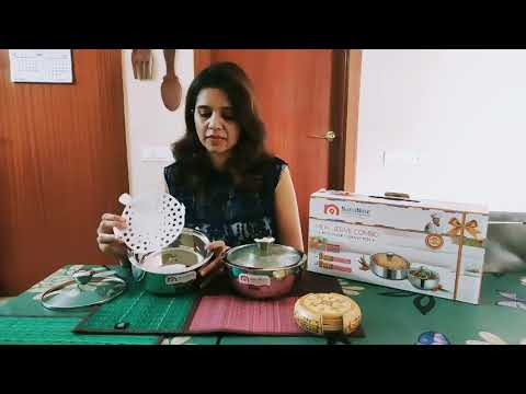 NanoNine Stainless Steel Meal Serve Combo(Roti Saver+Gravy Pot) Review By Milan Singhal