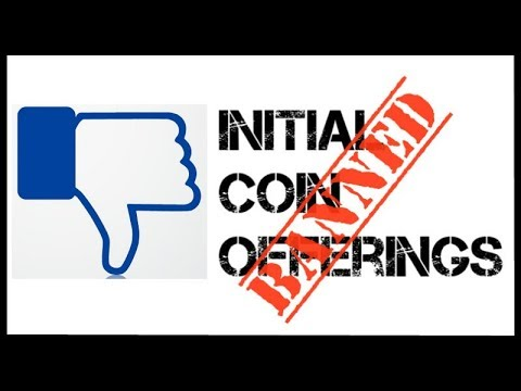 Facebook removes cryptocurrency ads