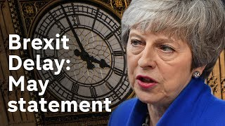 May Brexit statement after emergency EU summit