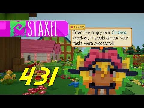 Staxel - Let's Play Ep 431 - MUSHROOM PANIC  