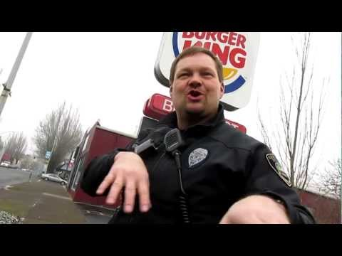 Corvallis Oregon Police, Open Carry AR-15
