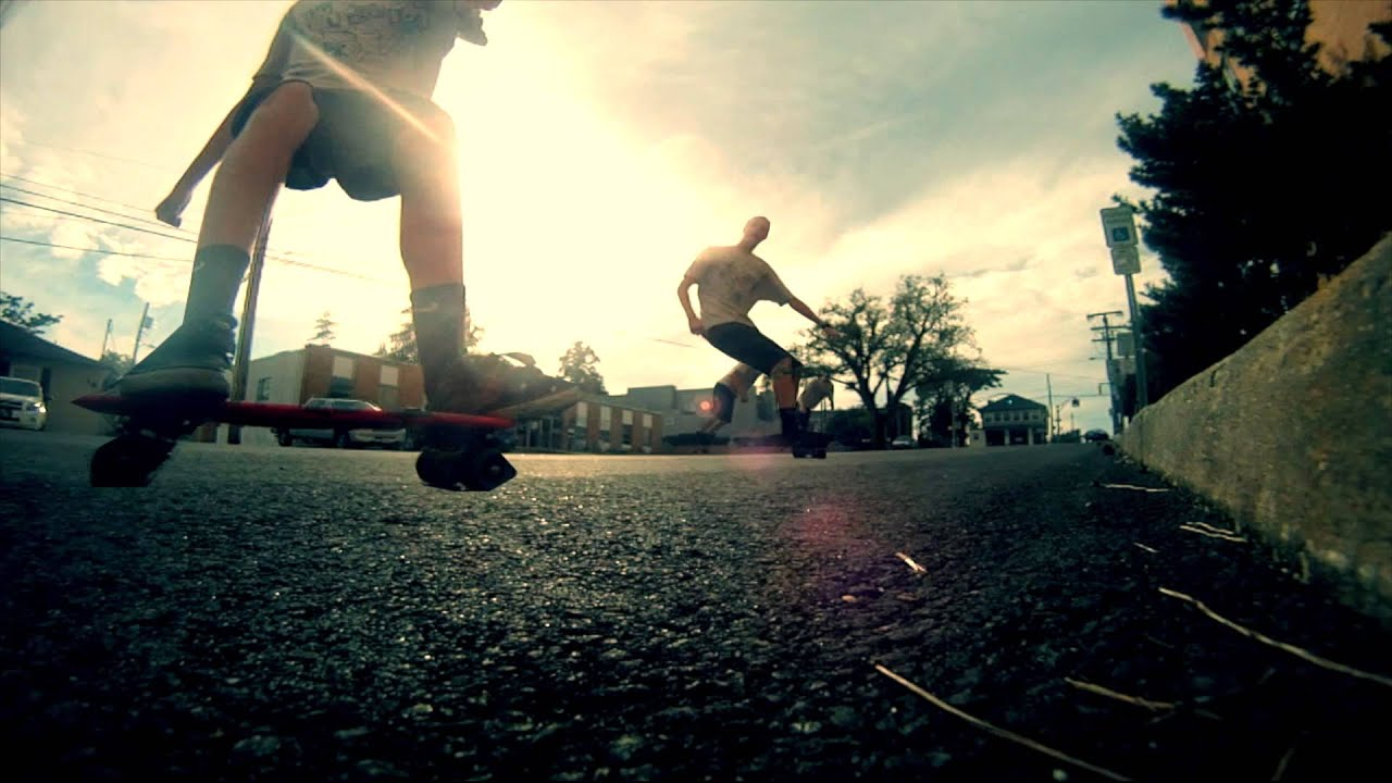 GoPro HD Hero 3: Penny Board | Springtime Shred Sesh - YouTube