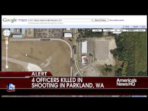 4 Tacoma, Washington police officers shot dead