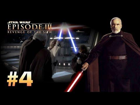 Star Wars Episode 3 Revenge Of The Sith Ps2 Walkthrough Part 4 Settling The Score Dooku Youtube