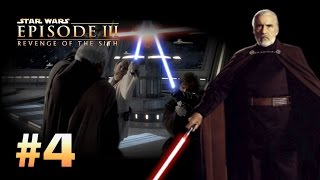Star Wars Episode 3: Revenge of the Sith (PS2) Walkthrough: Part 4 - Settling the Score [Dooku]