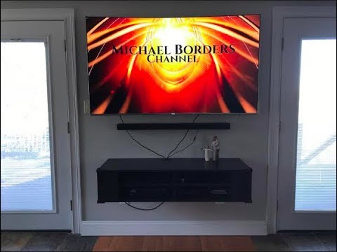 How to mount Floating Entertainment Center - FAST EASY - South Shore