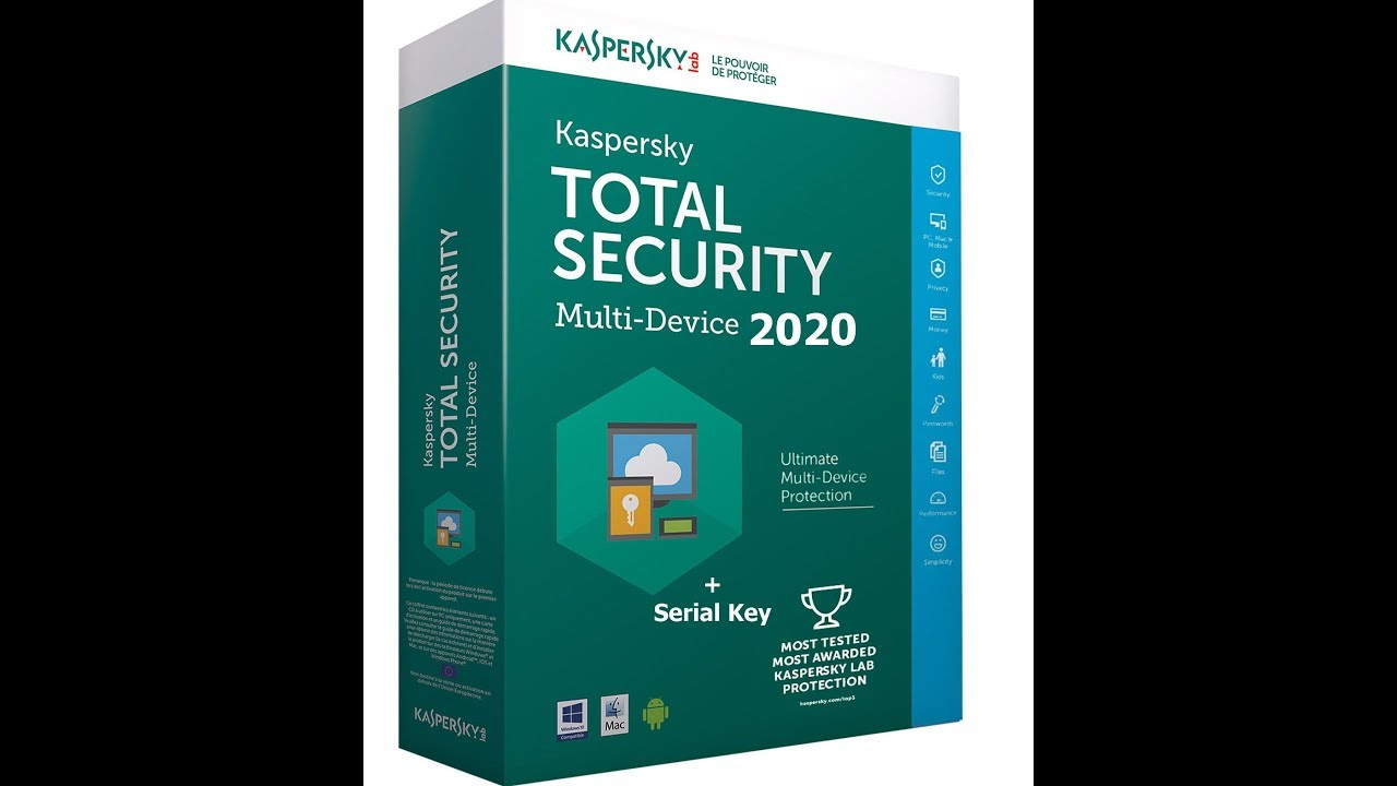Kaspersky Total Security 2020 License Key_Activation Code free