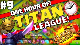 Clash of Clans   1 HOUR Time-lapse Searching at 4300+ Trophies!   Crazy Ups & Downs! Titan #9
