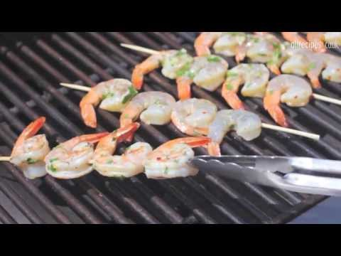 Barbecued Prawns Recipe - How To Barbecue Prawns