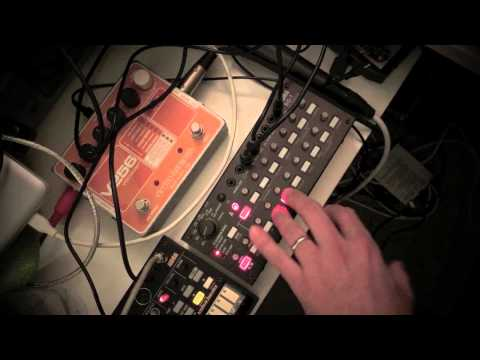 Korg SQ-1 Sequencer: Active Step Demo
