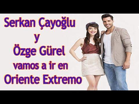 Serkan y Özge: Vamos a ir en Oriente Extremo !!!