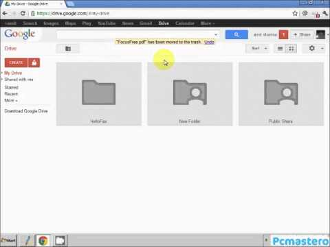 how to remove files from google drive