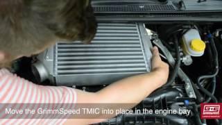 GrimmSpeed Top Mount Intercooler Installation Guide - 2015+ Subaru WRX