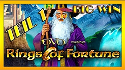 BIG WIN| (1/2) Ovo Casino- RINGS OF FORTUNE auf 0,50€