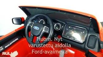 Rull.fi: Lasten sähköauto Ford Ranger 12V 2x45W