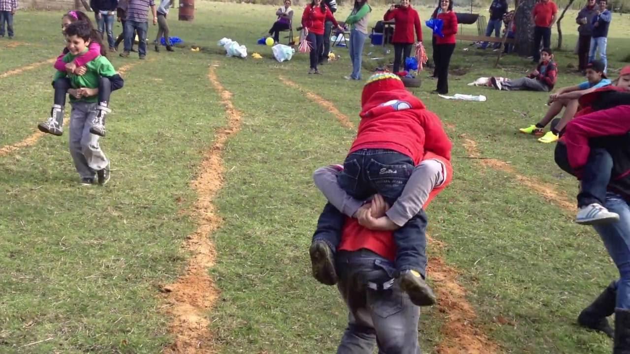 Parte 9 Carreras A Caballo Juegos Populares Familiares 2013 18