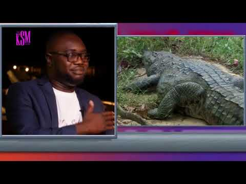 KSM Show- CEO of Aqua Safari Group, Mr Sammuel Afari hanging out with KSM part 1