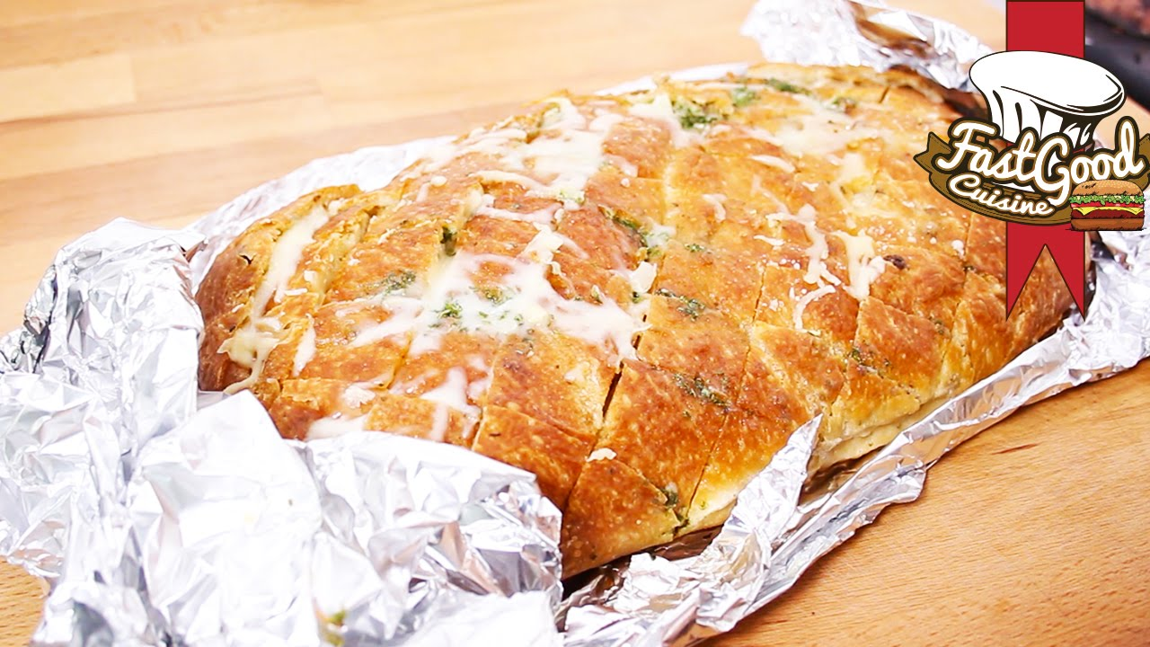 how to make garlic bread from scratch youtube