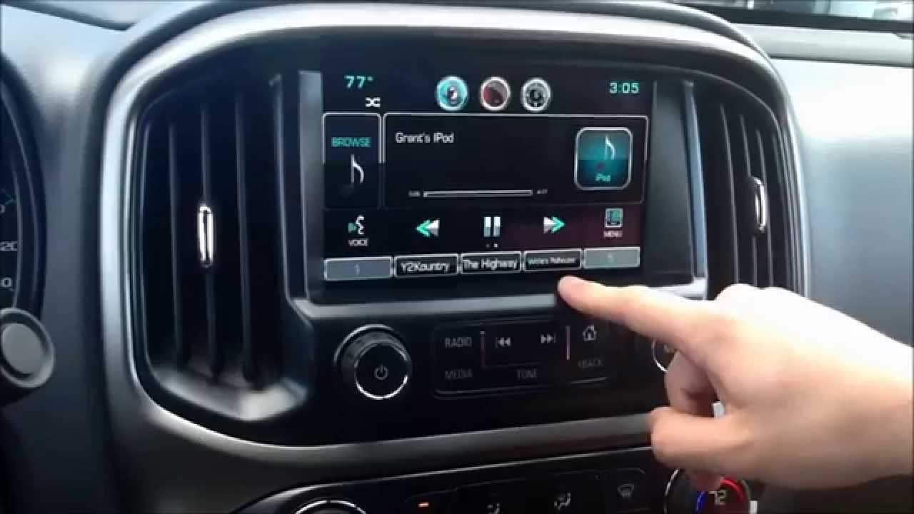 My Link Chevrolet >> How To: Playing Music from a FlashDrive and iPod on Chevy's MyLink Radio - YouTube
