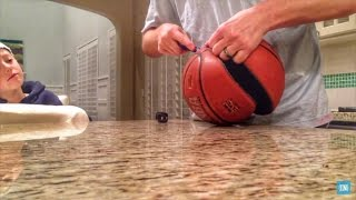 What's inside a Basketball?