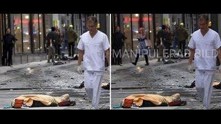 4 falska påståenden och bilder som spreds efter attacken på Drottninggatan