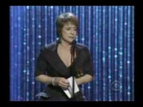 2008 Tony Awards Patti LuPone Acceptance Speech