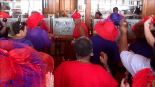 FLASH MOB - Red Hat Society Int