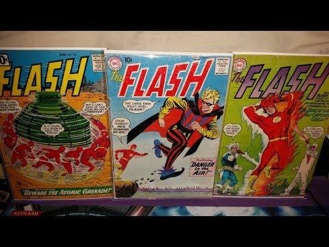 Intro and SilverAge Flash Comics
