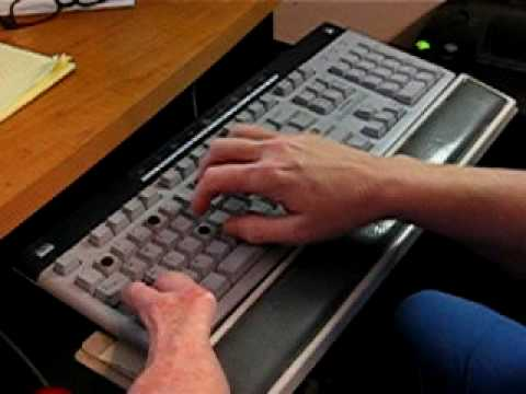 one hand typing and keyboard type with one hand one handed keyboards youtube. Black Bedroom Furniture Sets. Home Design Ideas