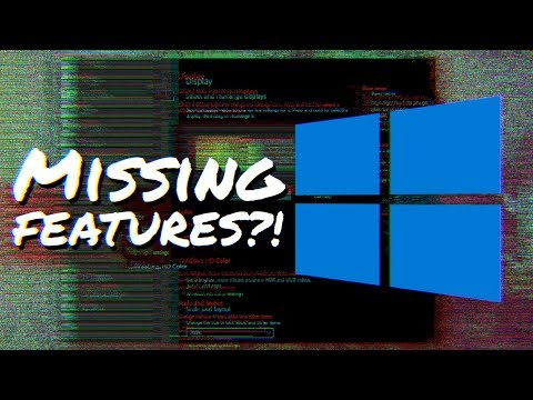 WINDOWS 10 OCTOBER 2018 UPDATE - BEST NEW Windows Features, Version 1809 (What's Missing?)