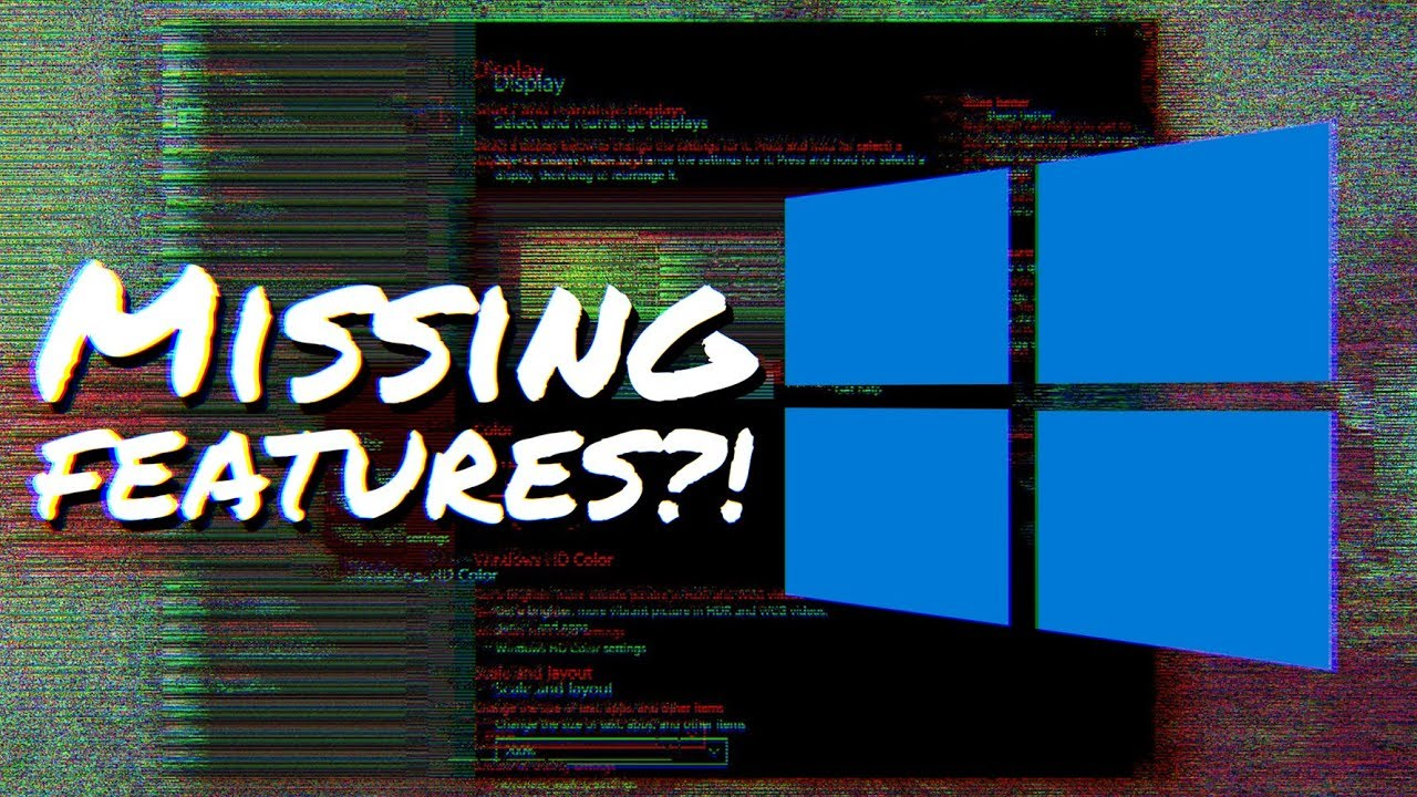 new windows 10 upgrade features