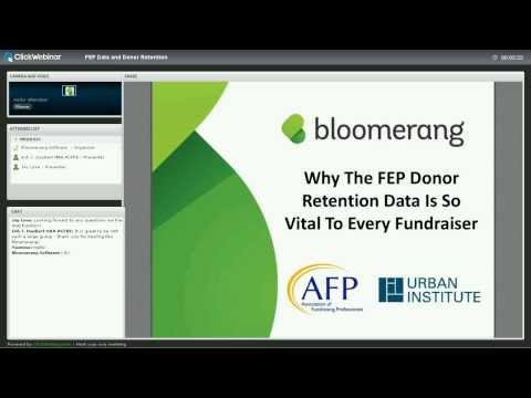Why the FEP Donor Retention Data is so Vital to Every Fundraiser
