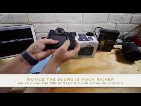 Canon 80D vs T6s (760d) Comparison - Buying a new DSLR? (For Video)
